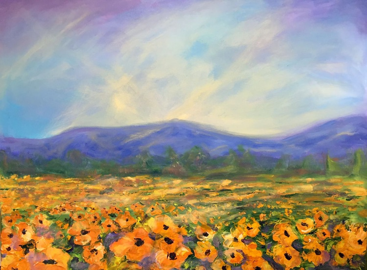 Among the fields of gold - Image 0