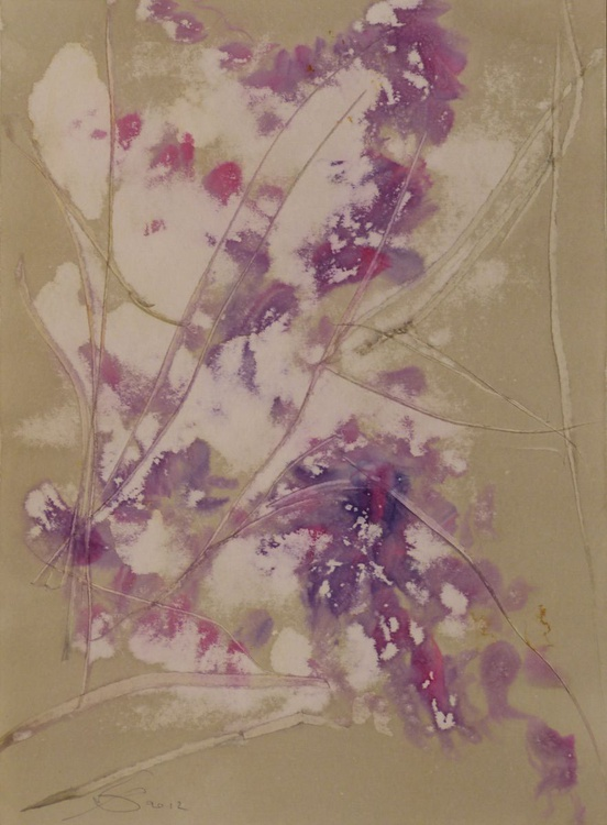 Etude in Soft Colours #1, Ink on Paper 41x29 cm - Image 0