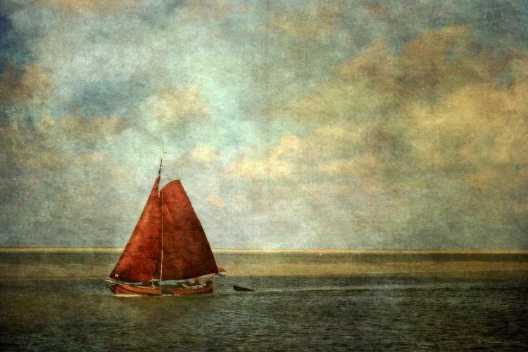 Sailing - Canvas 75 x 50 cm - Image 0