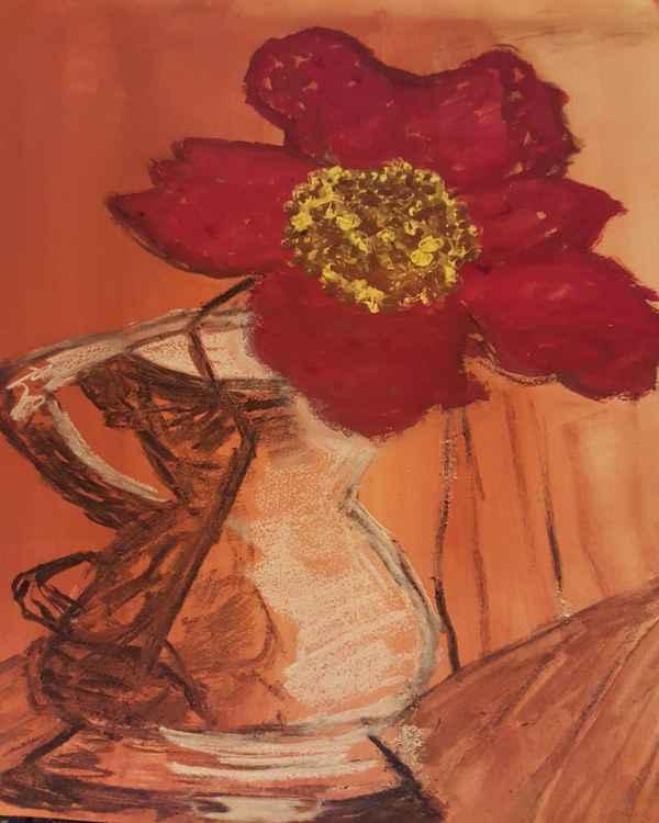 ~Deep Red Still life~ By Cynthia Jackson
