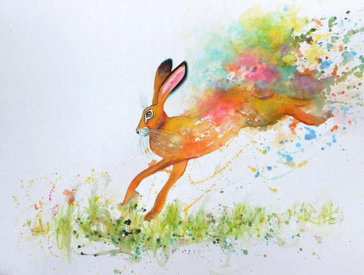 Flying Hare - Image 0