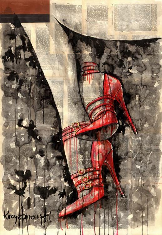 Red high heels - Image 0