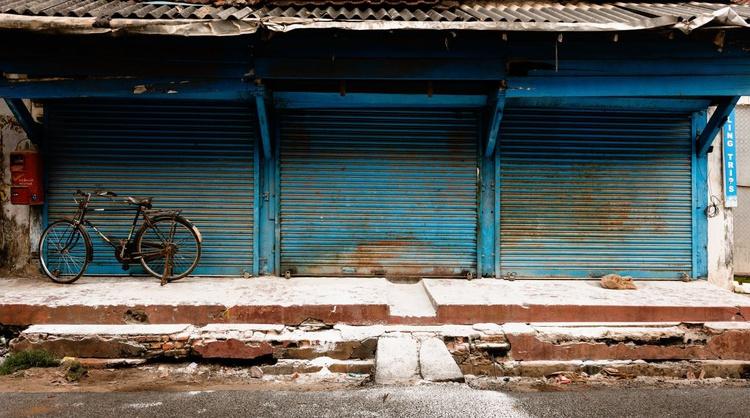 Fort Kochi Old Town I. (119x70cm) - Image 0