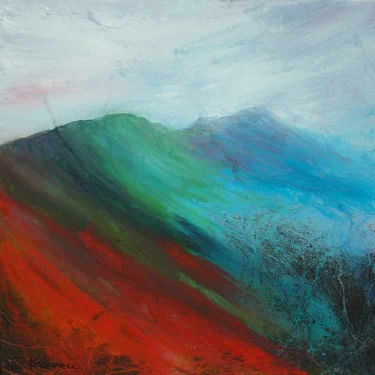 Abstract Pennine English mountain landscape - Image 0