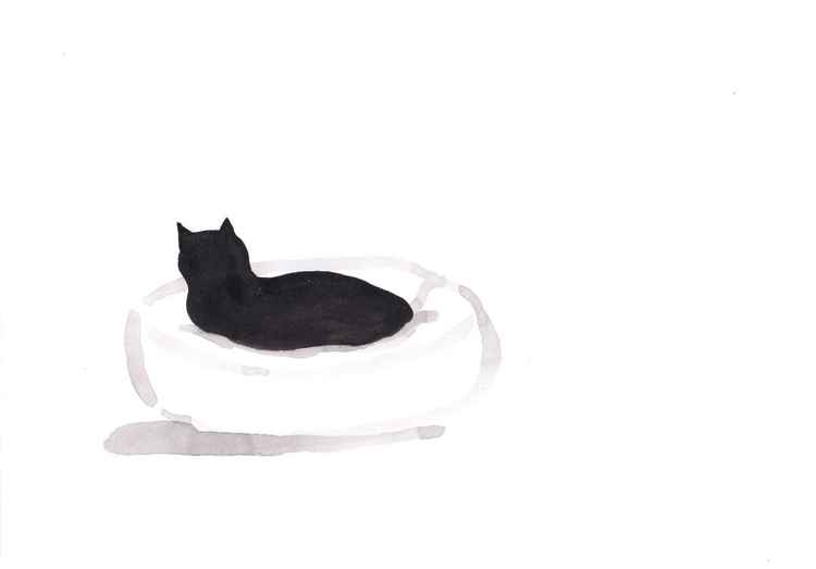 Cat in a bed 3021B -