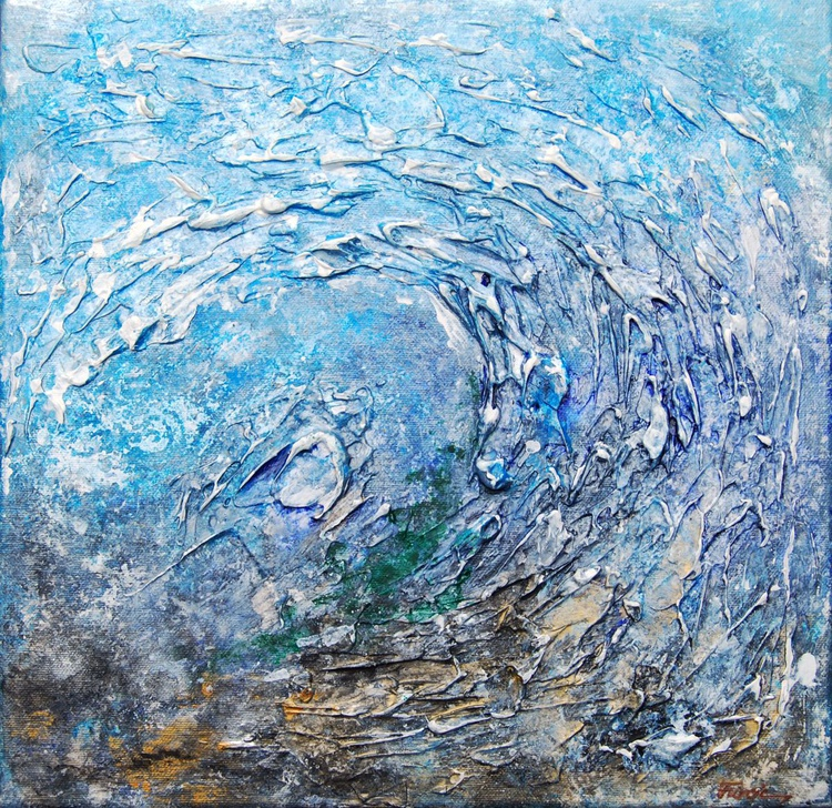 CYCLONE - ABSTRACT TEXTURED PAINTING - Image 0