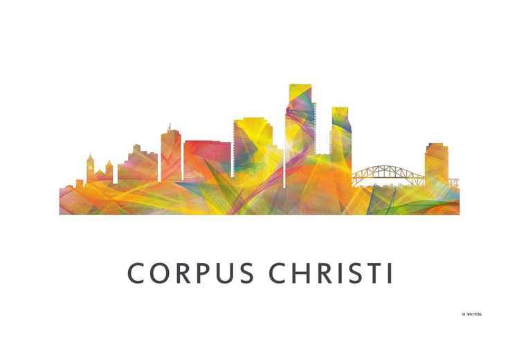 Corpus Christi Texas Skyline WB1 -