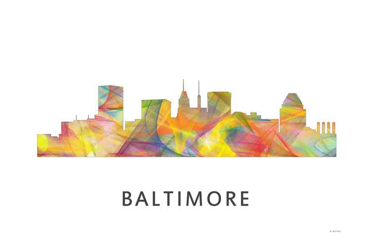 Baltimore Skyline WB1 -