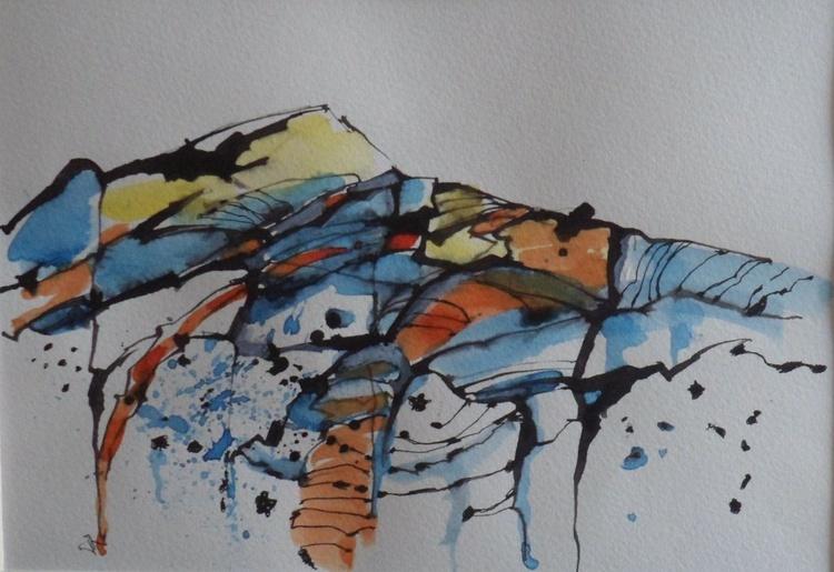 Peak patterns 3, Peak District - Image 0