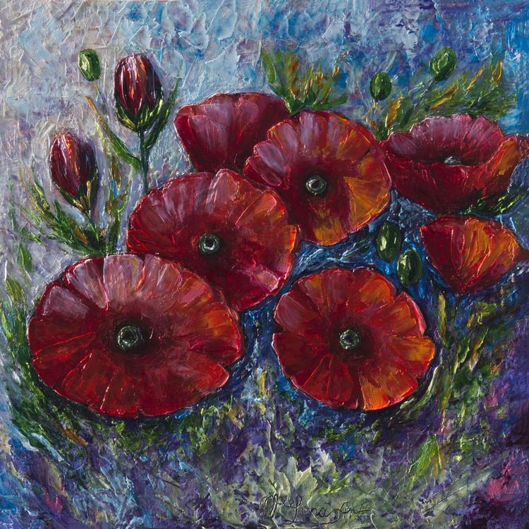 """Bella Fresca poppies"" - Image 0"