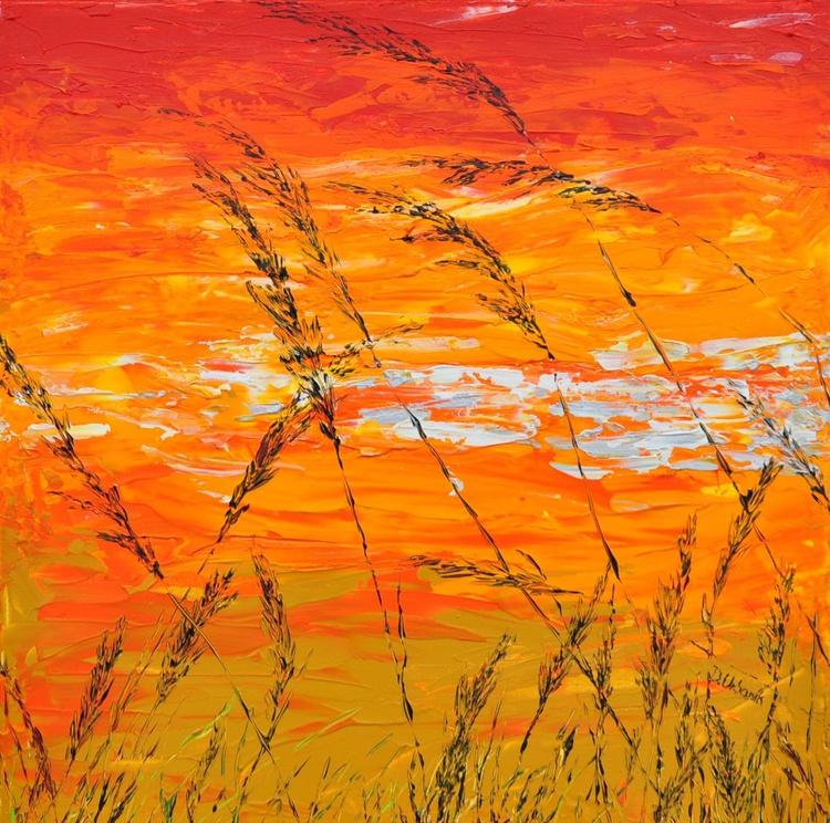 Grass in Gold - Image 0