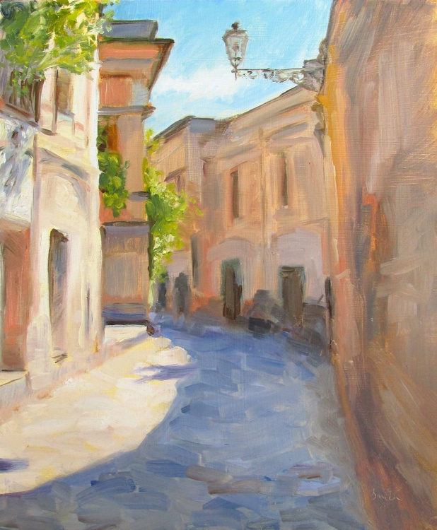 A quiet side street in Italy - Image 0