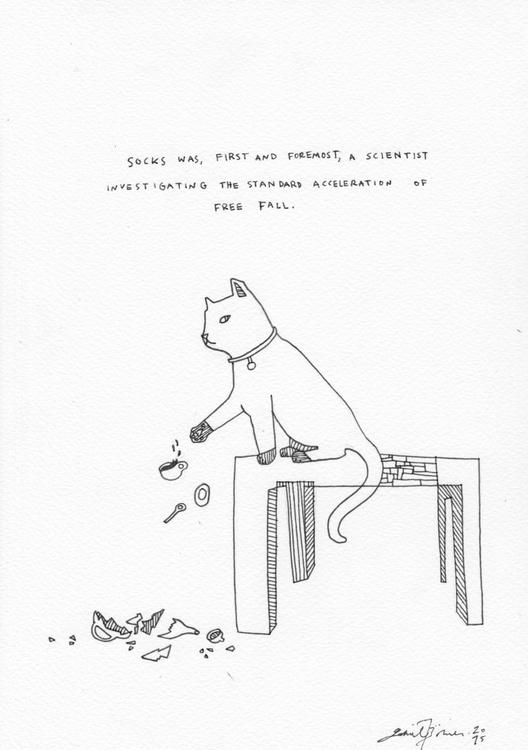 Socks, The Scientist - Image 0