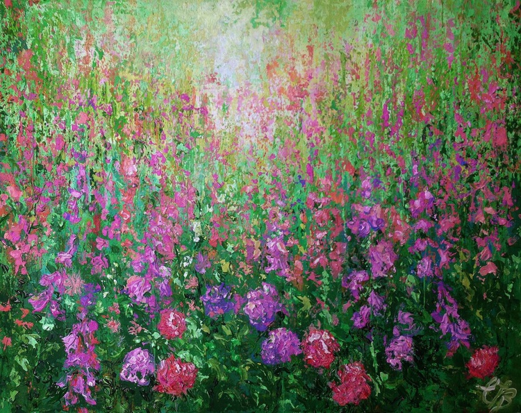 The Pink garden - Image 0