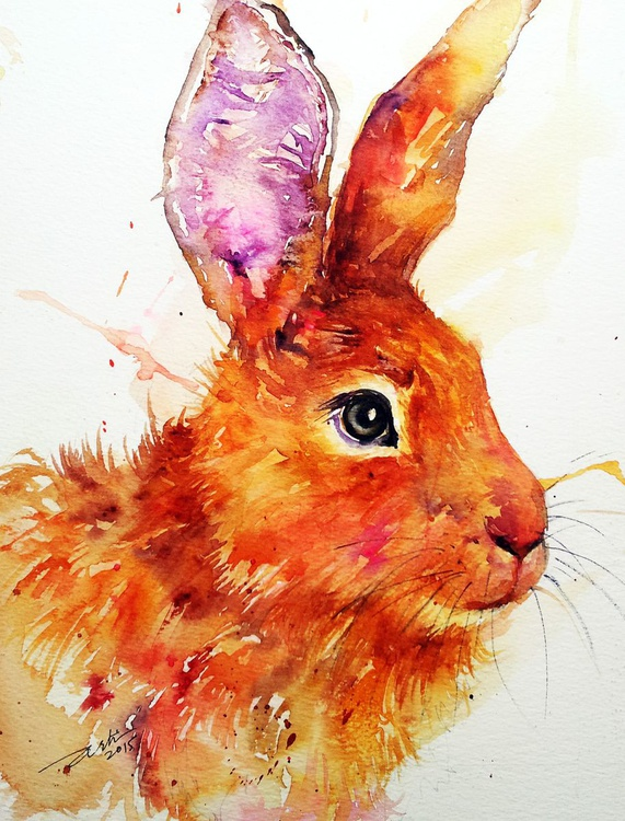 Burnt Orange Hare - Image 0