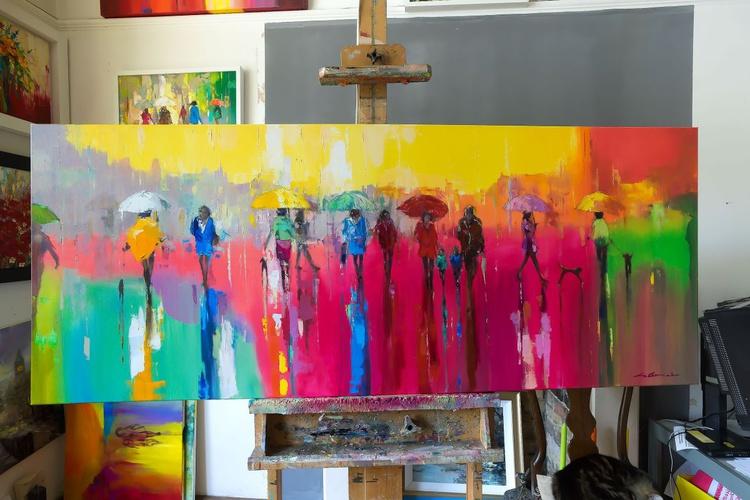 'Walking with Rainbow II' Commission - Image 0