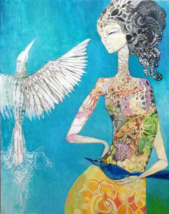 blue bird -