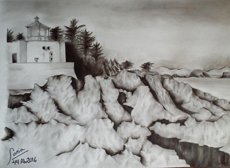 Lighthouse on the rocky coast - Image 0
