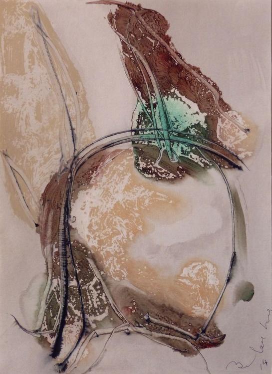 Prolegomena, Acrylic on paper #19 29x42 cm - Image 0