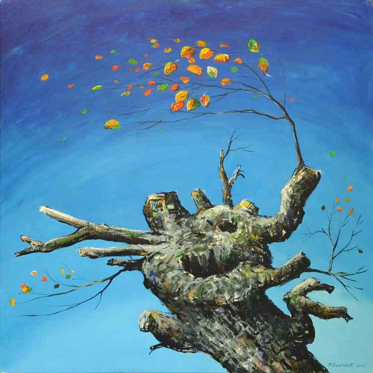 Trees, lights -