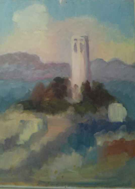 A View of Coit Tower -