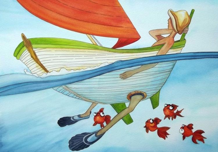 Maman les petits bateaux... - Image 0