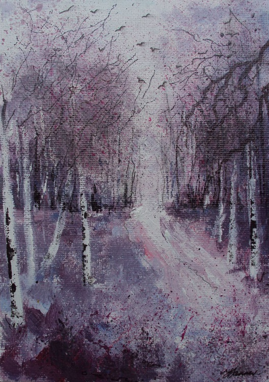 Winter Woods small - Image 0