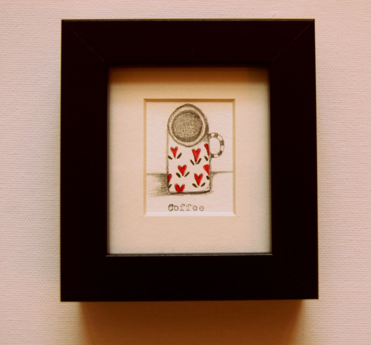 Framed Coffee for One (miniature).. - Image 0