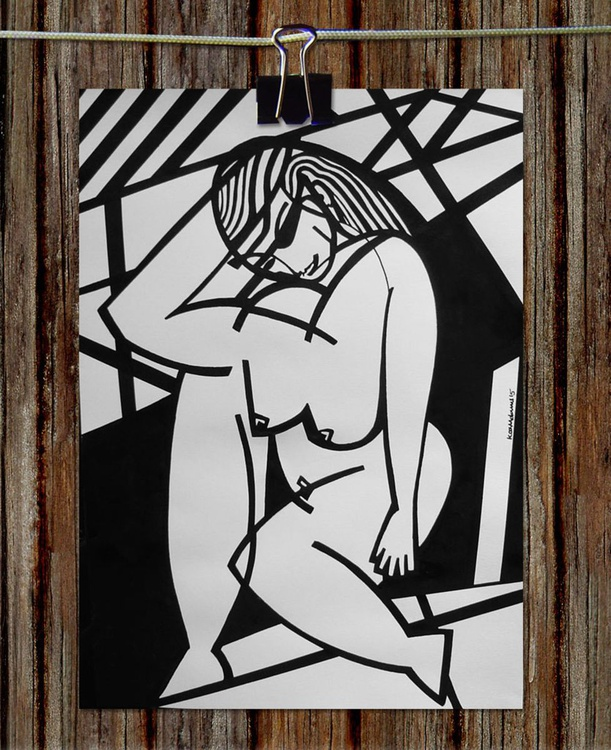 Abstracted Nude - Image 0