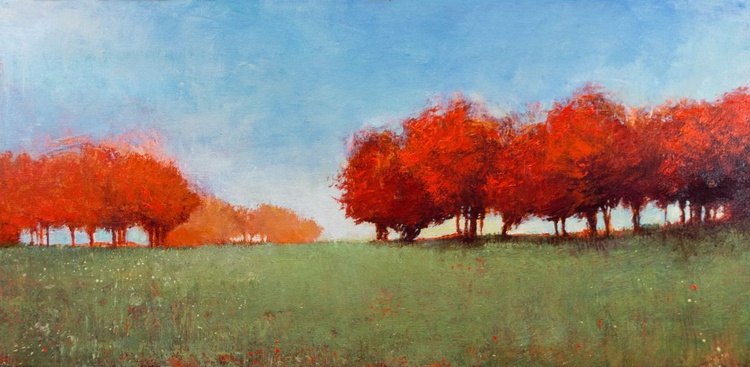 Red Maples Green Fields - Image 0