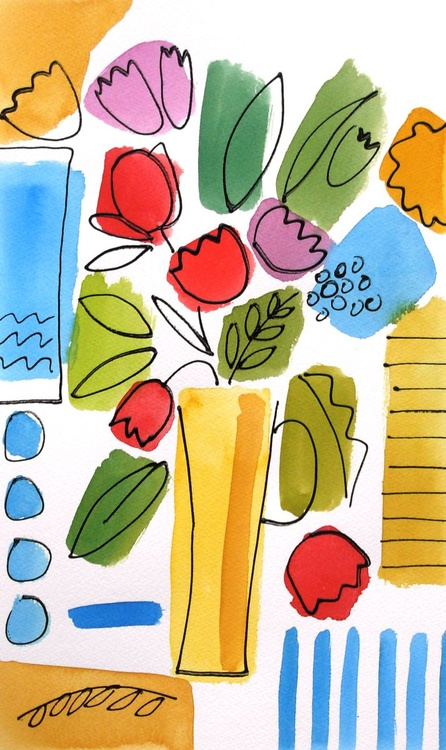 The Yellow Vase - Image 0