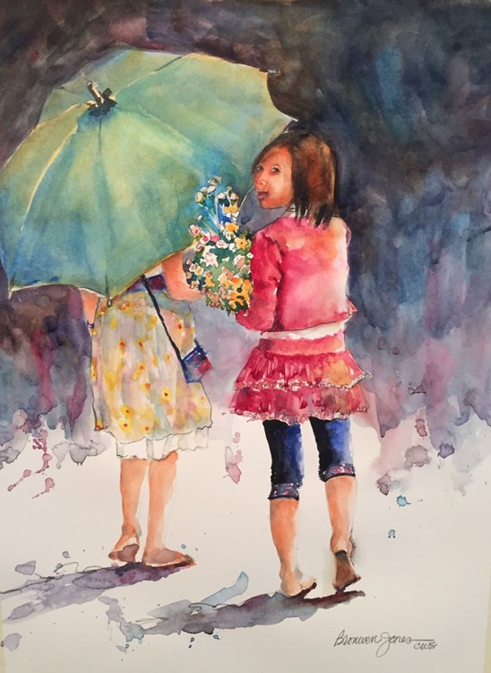 Umbrella Girls - Image 0