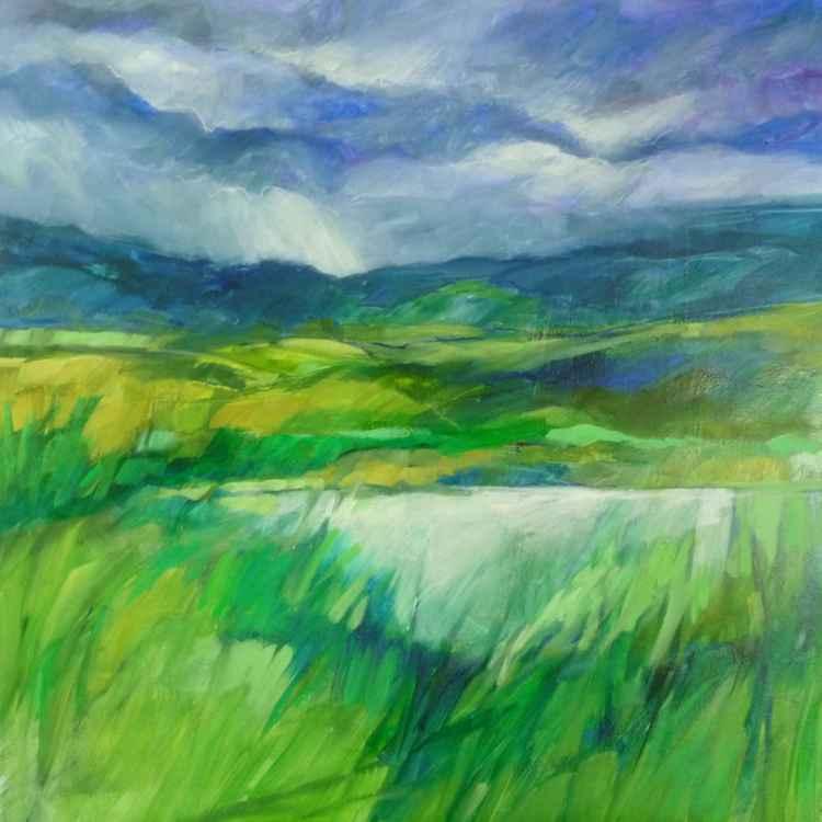 Summer Pond -