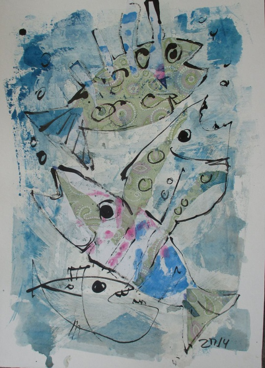 crazy fishes - Image 0