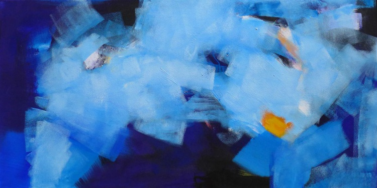 "Cloud Eight  36"" x 18""/ 91 x 46 cm - Image 0"