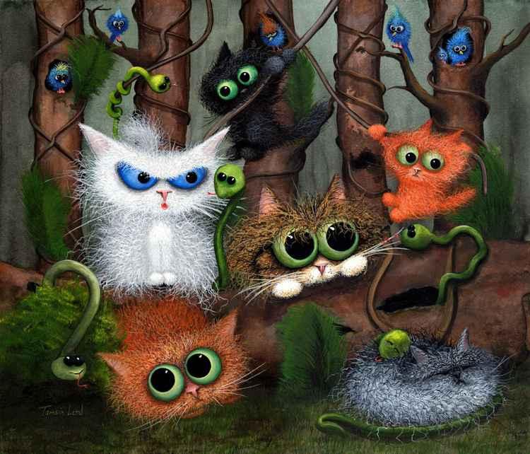 Fiendish Feline Jungle Fever -