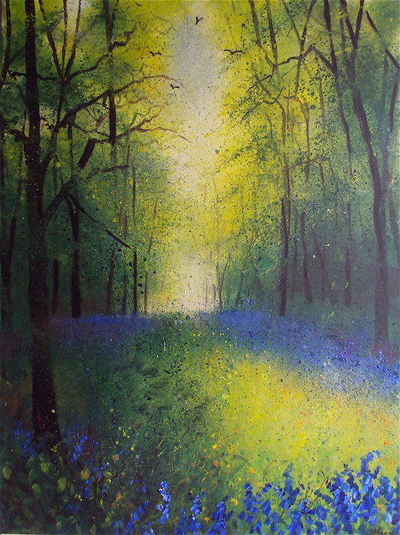 Walk in Bluebell Woods - Image 0