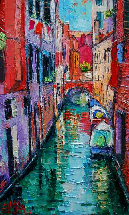 Ponte Raspi O Sansoni - Venice - Italy -