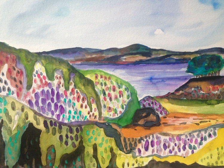 Flowering hills - Image 0