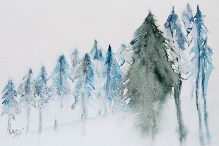 Ascending Pines - Image 0