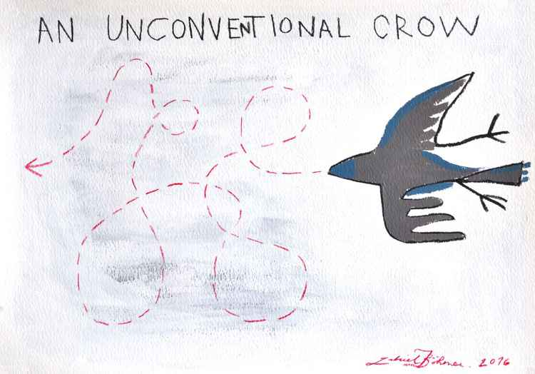 An Unconventional Crow -