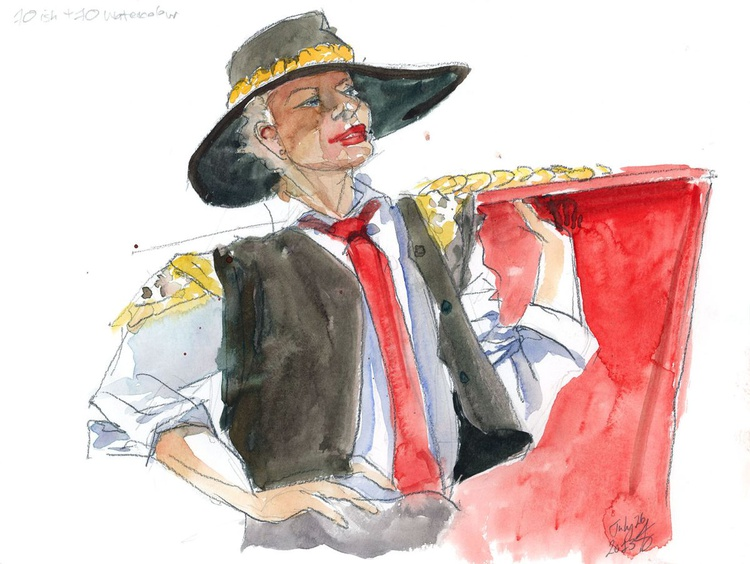 Matador Life Drawing (#3) - Image 0