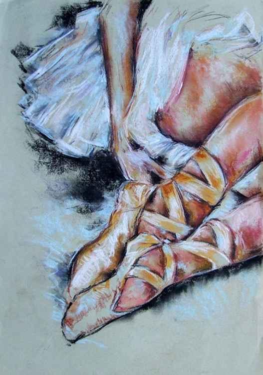 Ballet shoes / Pastel -