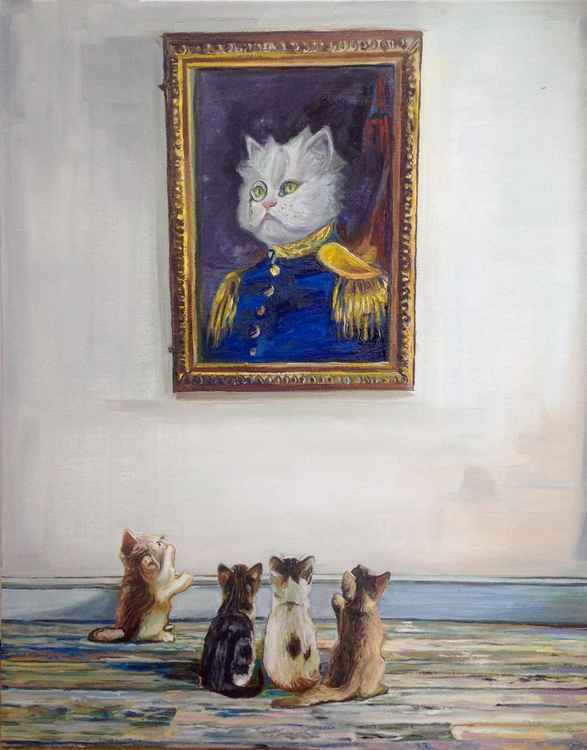 Portrait of Admiral Kitty -
