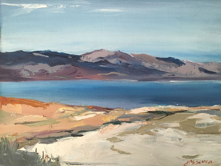 The Great Salt Lake Landscape Antelope Island Utah - Image 0