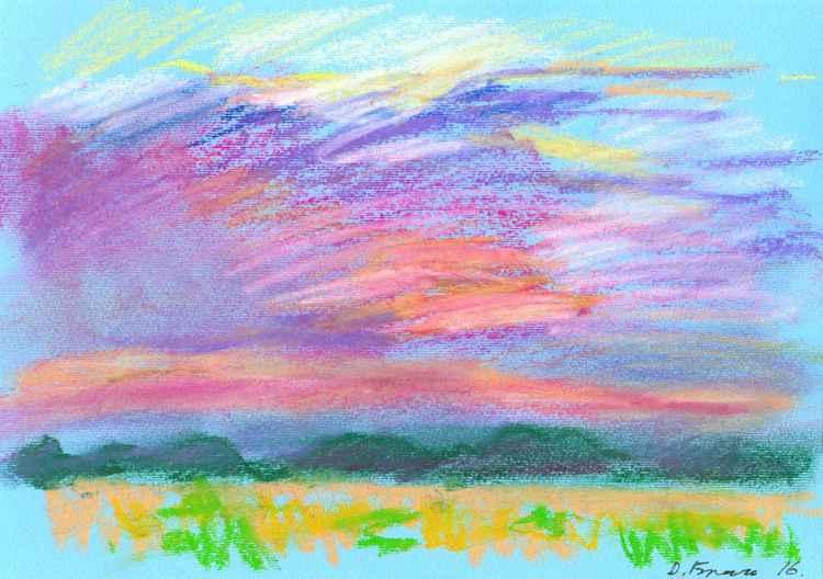 Pastel study #1 -
