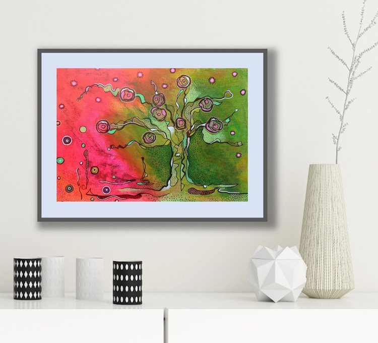 Fantasy Abstract Tree - Image 0