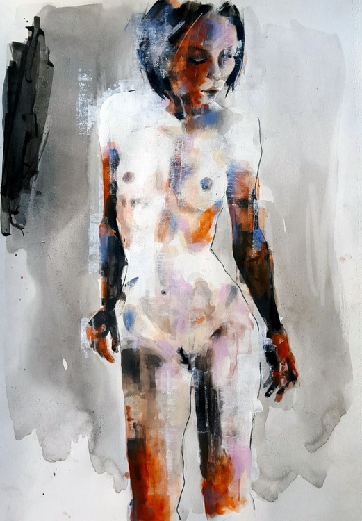 2-27-16 figure study - Image 0