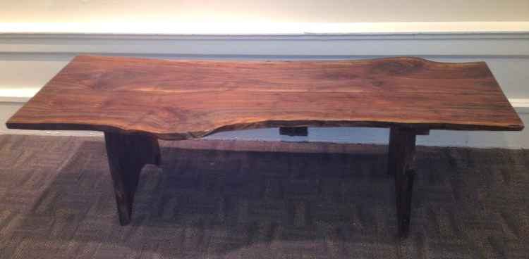 Black Walnut Coffee Table -