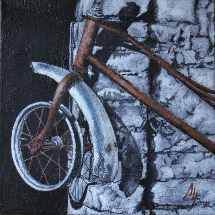 "CICLO (part of the ""Conza:  details"" series of 7 paintings) -"